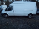 Ford Transit NJ08 ZXN