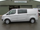 Ford Transit Custom RE63 KZL