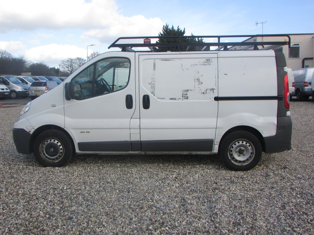 Renault Trafic KY59 BPX