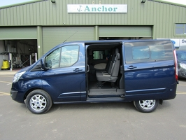 Ford Transit Custom RE63 MVR