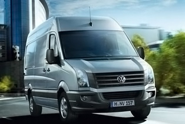 Volkswagen's Crafter panel van, chassis and double cab